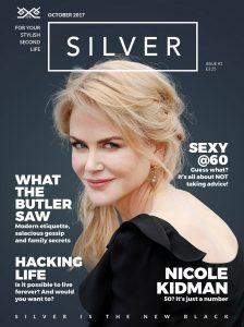 Silver Magazine Nicole Kidman cover story www.silvermagazine.co.uk