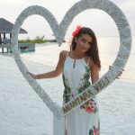 Lara Barakat A Touch of White on beach www.silvermagazine.co.uk