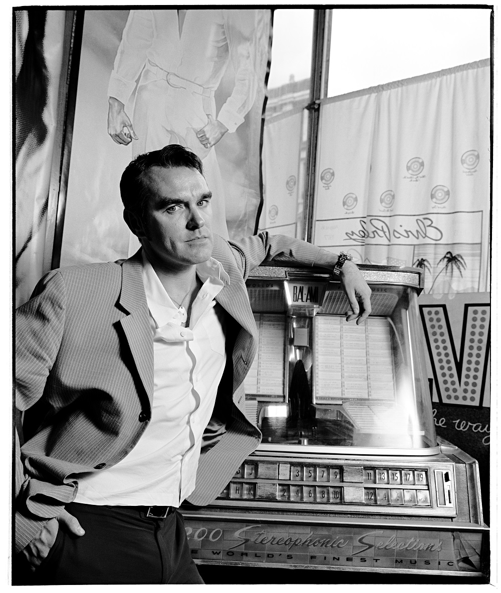 Morrissey by Pat Pope on Silver Magazine www.silvermagazine.co.uk