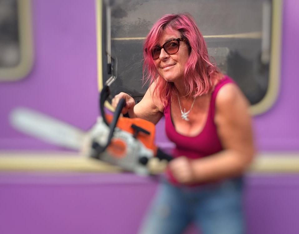 Amanda Blanch taking on the menopause