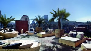Ritz Carlton Santiago rooftop Silver Travel Club