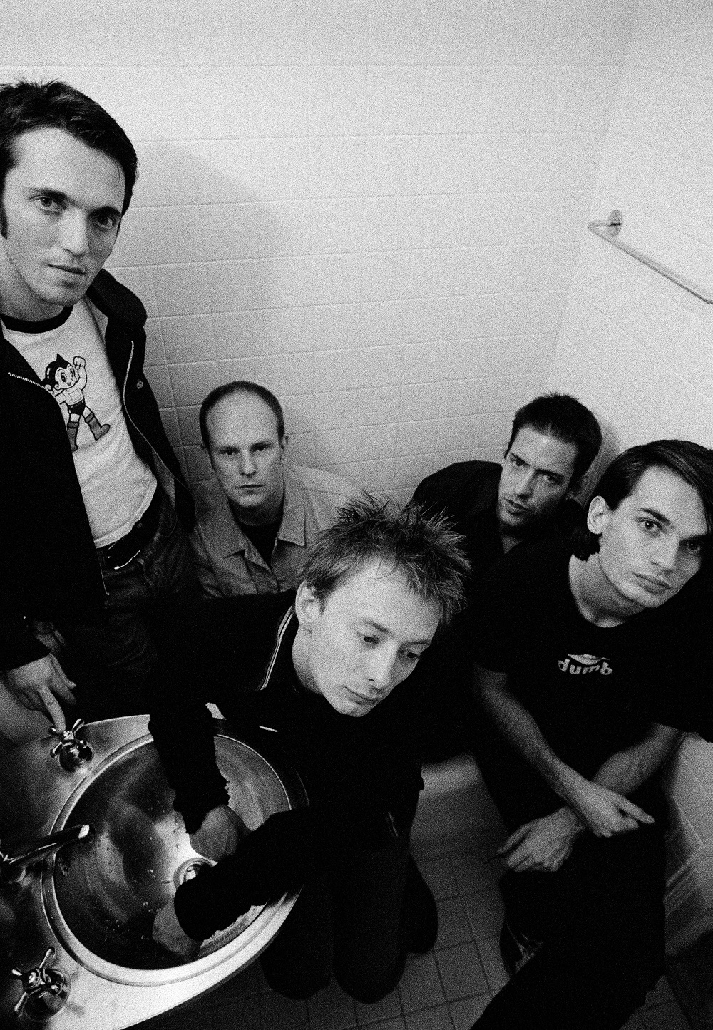 Radiohead by Pat Pope on Silver Magazine www.silvermagazine.co.uk