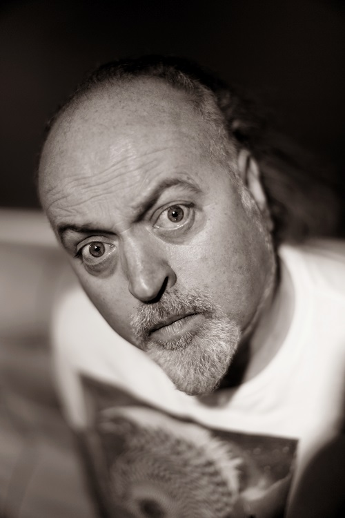 Bill Bailey by Andy Hollingworth portrait for Silver Magazine www.silvermagazine.co.uk