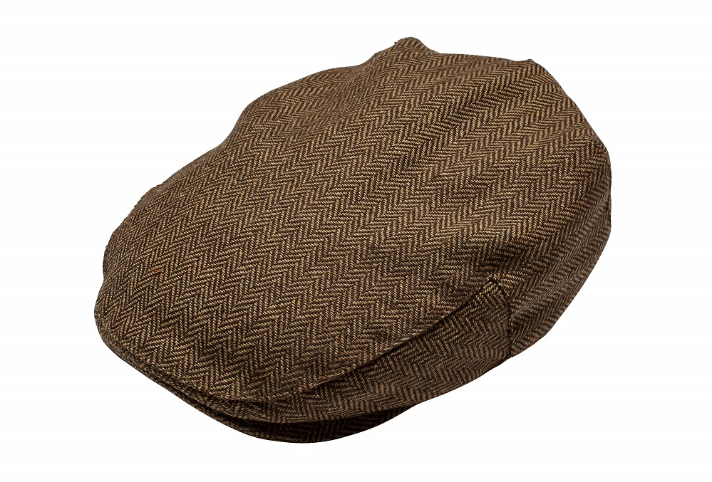 British Heart Foundation mens brown baker boy cap £5.99 Silver Magazine www.silvermagazine.co.uk
