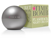 Time Bomb Flashback Nightly Cream Night Cream Silver Magazine www.silvermagazine.co.uk