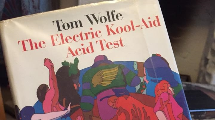 The Electric Acid Kool Aid by Tom Wolfe on Silver Magazine photo Mark Little