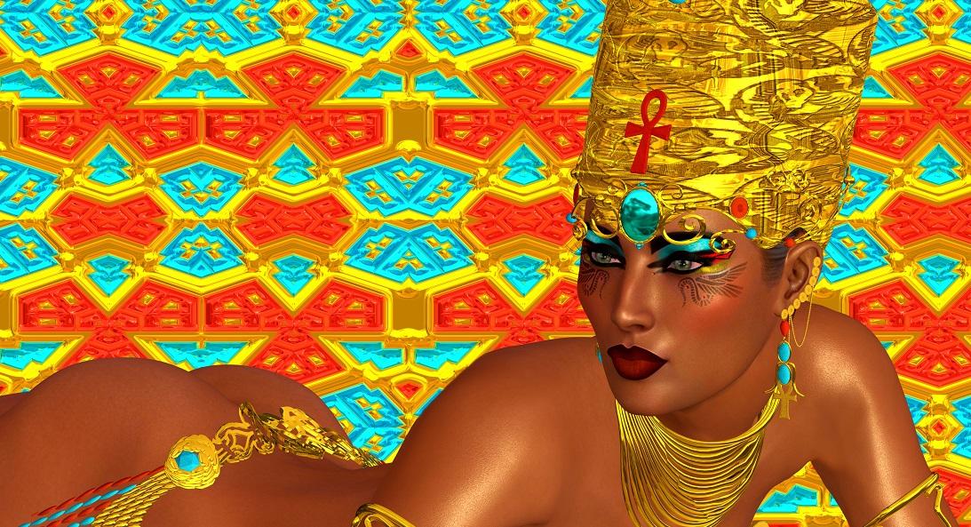 Egyptians and early lipstick Silver Magazine www.silvermagazine.co.uk