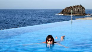 Julie Burchill in Madeira Silver Magazine www.silvermagazine.co.uk Photo Yvonne Doyle