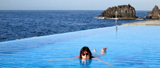 Julie Burchill in Madeira Silver Magazine www.silvermagazine.co.uk Photo Yvonne Doyle