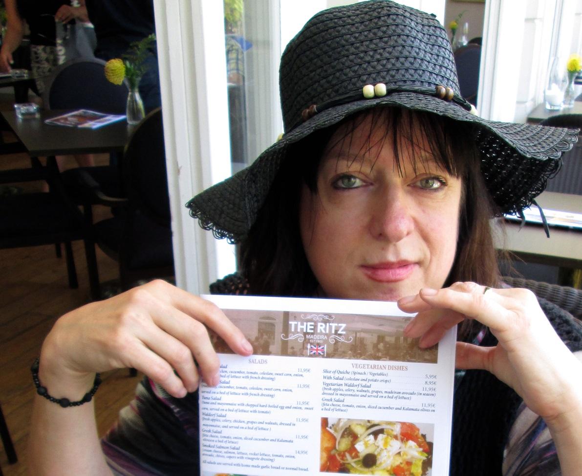Julie Burchill the Ritz Madeira Silver Magazine www.silvermagaine.co.uk photo Yvonne Doyle