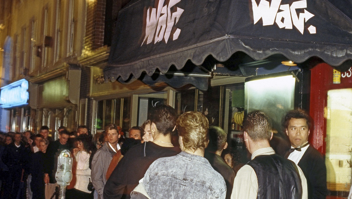 The Wag queue Jan 88 Summer of Love Silver Magazine www.silvermagazine.co.uk