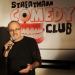 Dave at Streatham Comedy Club Silver MAgazine www.silvermagazine.co.uk