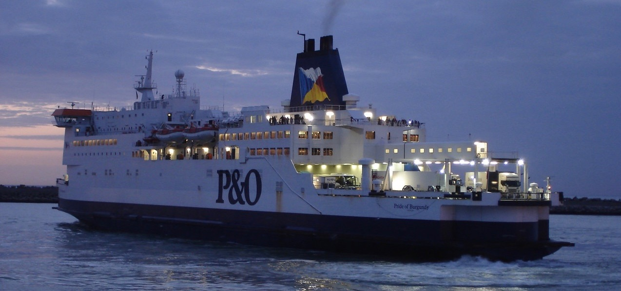 P&O ferry Paul Tierney on Silver Magazine