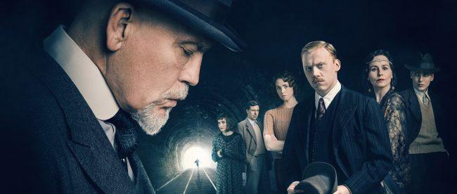 John Malkovich is Hercule Poirot December 2018 on Silver Magazine www.silvermagazine.co.uk