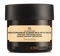 Body Shop Mediterranean Almond Milk With Oats Instant Soothing Mask online Silver Magazine www.silvermagazine.co.uk