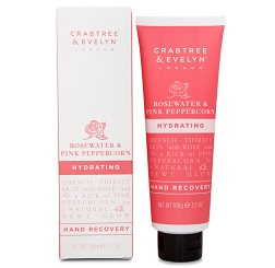 Crabtree & Evelyn Rosewater & Pink Peppercorn Hydrating Hand Recovery online Silver Magazine www.silvermagazine.co.uk