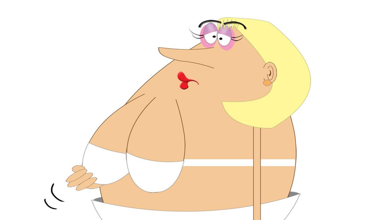 Droopy breasts in menopause A-Z of menopause on Silver Magazine www.silvermagazine.co.uk