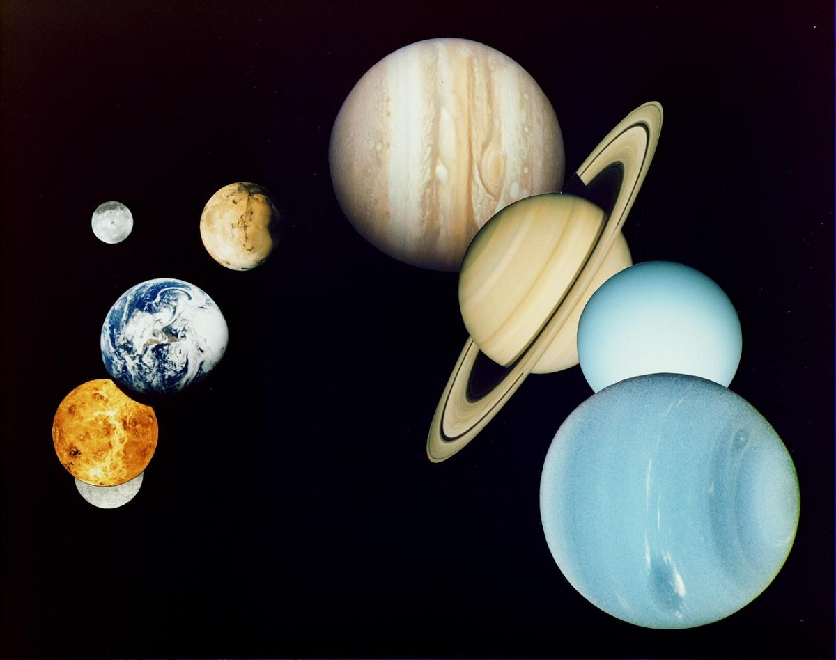 Our solar system - NASA photos on Silver Magazine www.silvermagazine.co.uk