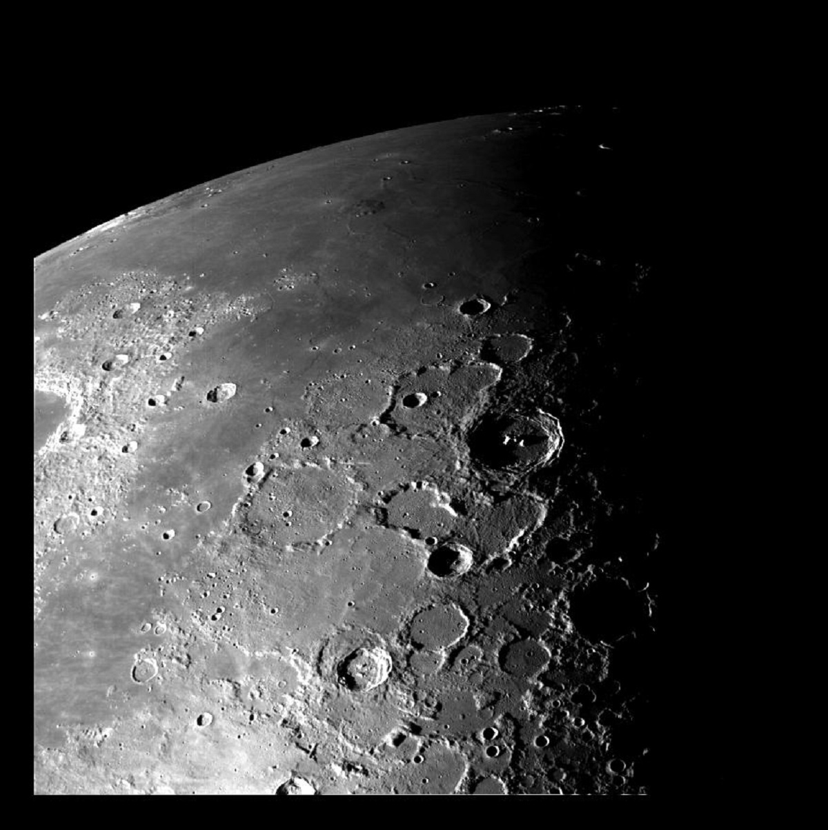 2 Moon - North Pole - NASA photos on Silver Magazine www.silvermagazine.co.uk