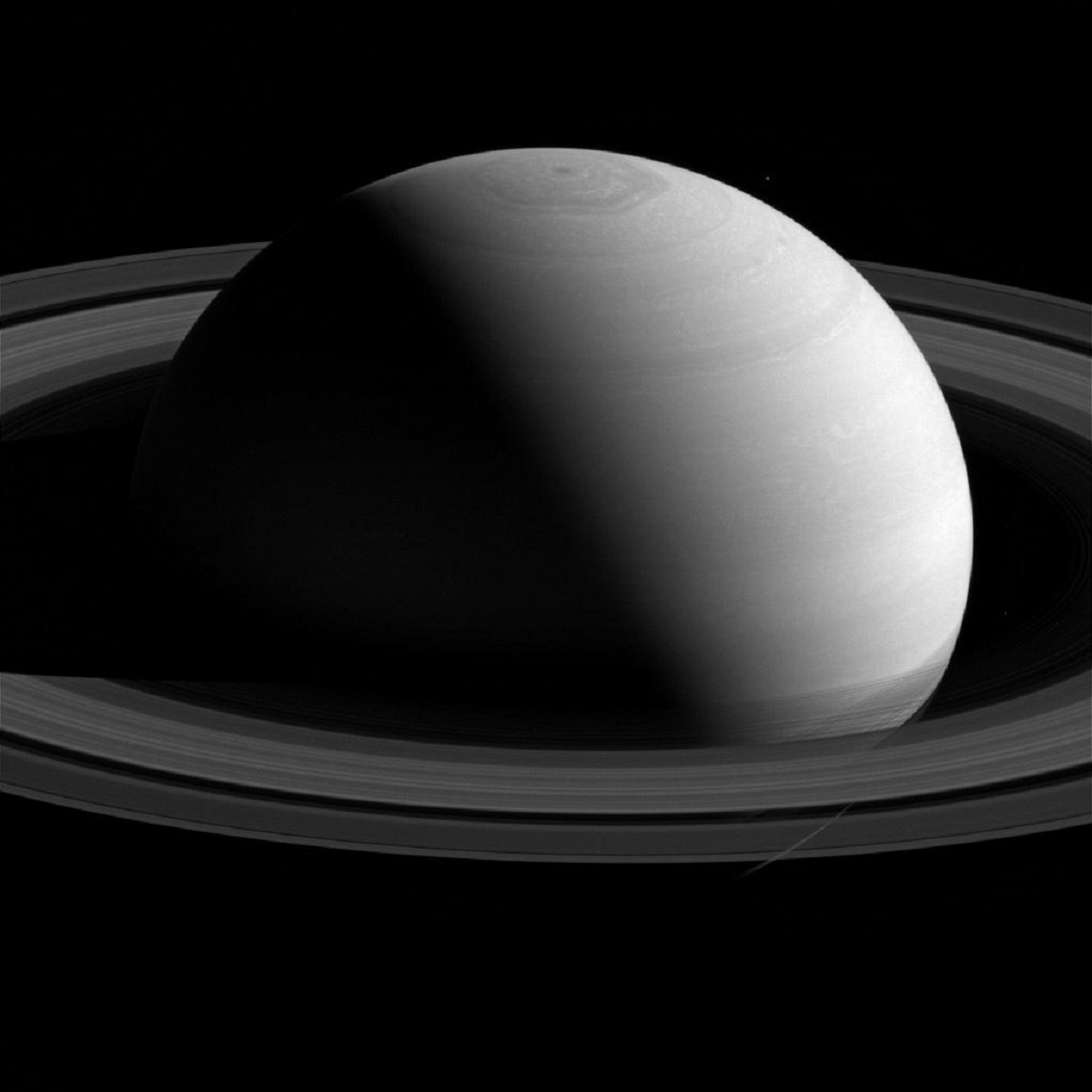 Saturn looks peaceful from a distance - NASA photos on Silver Magazine www.silvermagazine.co.uk