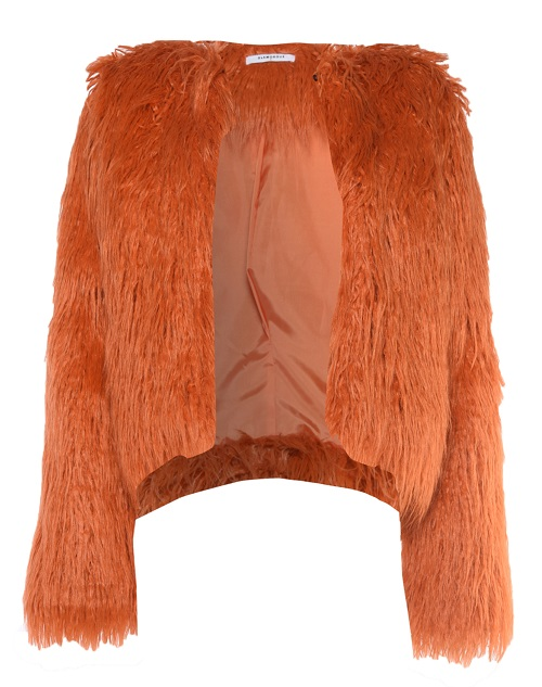 Glamorous orange Faux Fur Coat £91