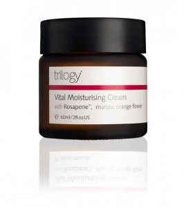 Trilogy Vital Moisturising Cream summer skin feature Silver Magazine www.silvermagazine.co.uk
