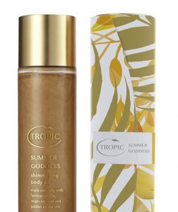 Tropic Summer Goddess golden shimmer Summer Skin feature on Silver Magazine www.silvermagazine.co.uk