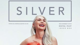 Silver Magazine launch issue cover www.silvermagazine.co.uk