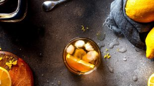 Ginger Whiskey Sour recipe Silver Magazine