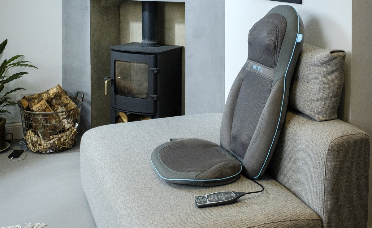 Massage chair review spa at home article for Silver Magazine www.silvermagazine.co.uk