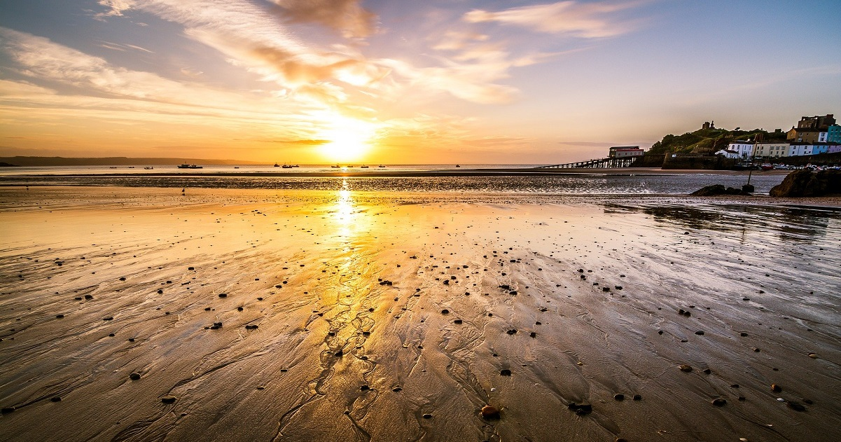 Holiday in Tenby UK staycation www.silvermagazine.co.uk