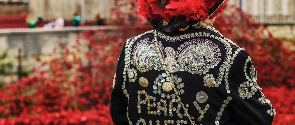 Pearly Queen on Remembrance Day for Silver Magazine www.silvermagazine.co.uk