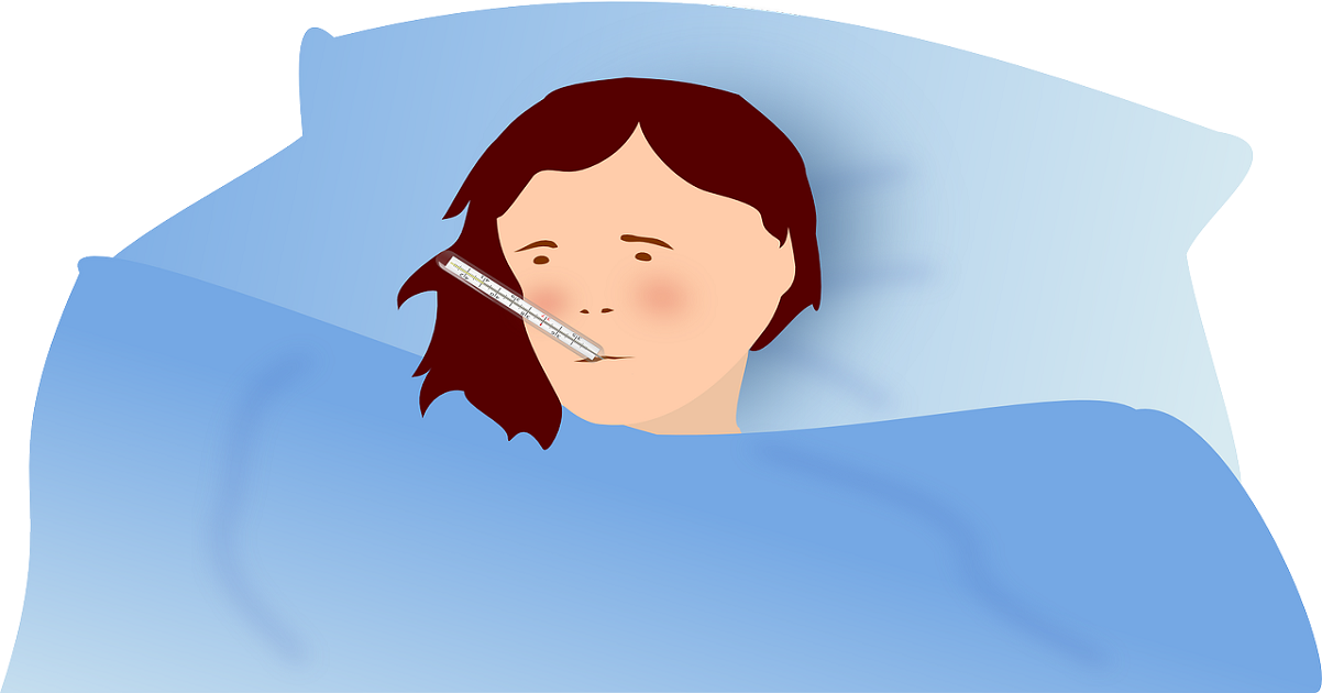 Ill in bed with Influenza - Why you should get a flu jab for Silver Magazine www.silvermagazine.co.uk