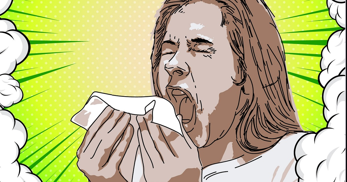 Sneezing - article on why you should get a flu jab for www.silvermagazine.co.uk