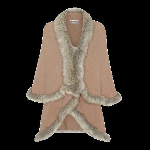 Debenhams Principles Faux Fur Lined Shawl - £55