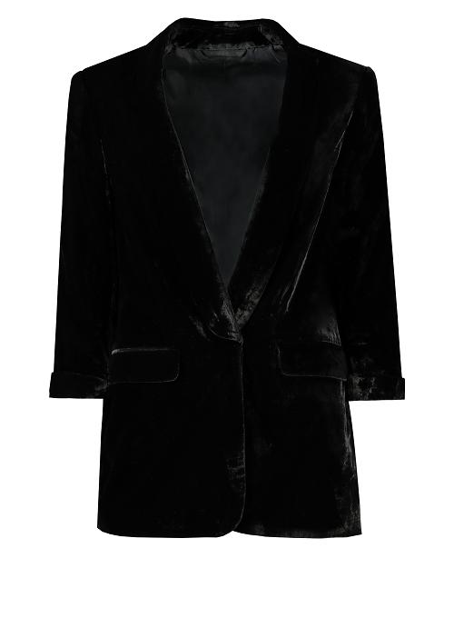 F&F Black Velvet Jacket - £35.jpg