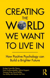 Creating the world we want to live in book jacket - Sue Roffey on Silver Magazine www.silvermagazine.co.uk