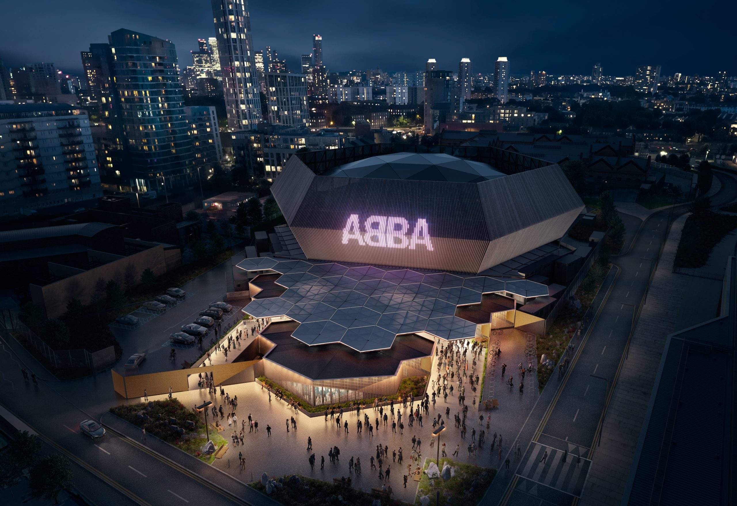 ABBA Arena - Illustration