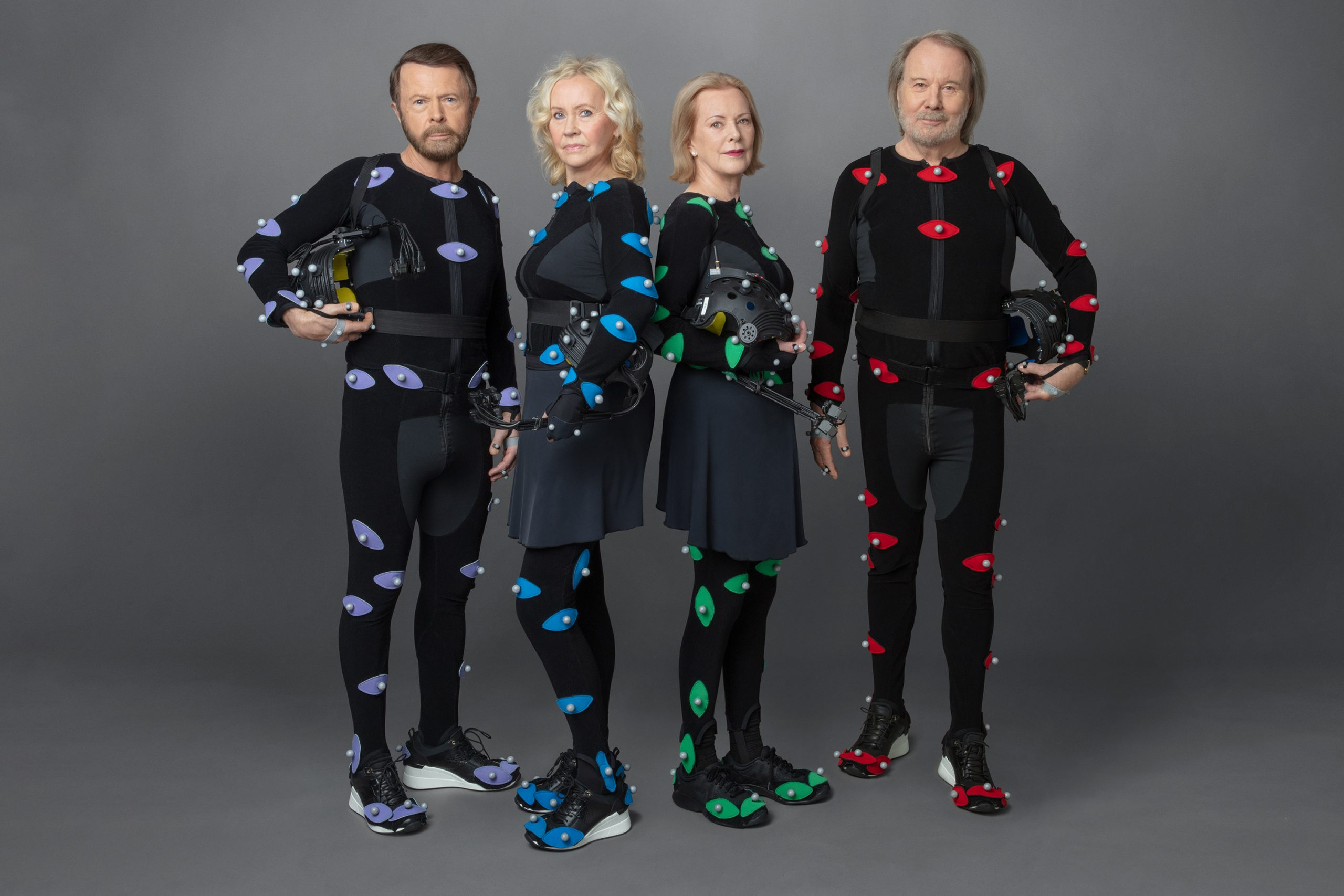 ABBA Mo Cap Suits - (Credit: Baillie Walsh)